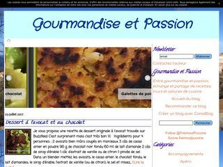 Gourmandise et Passion