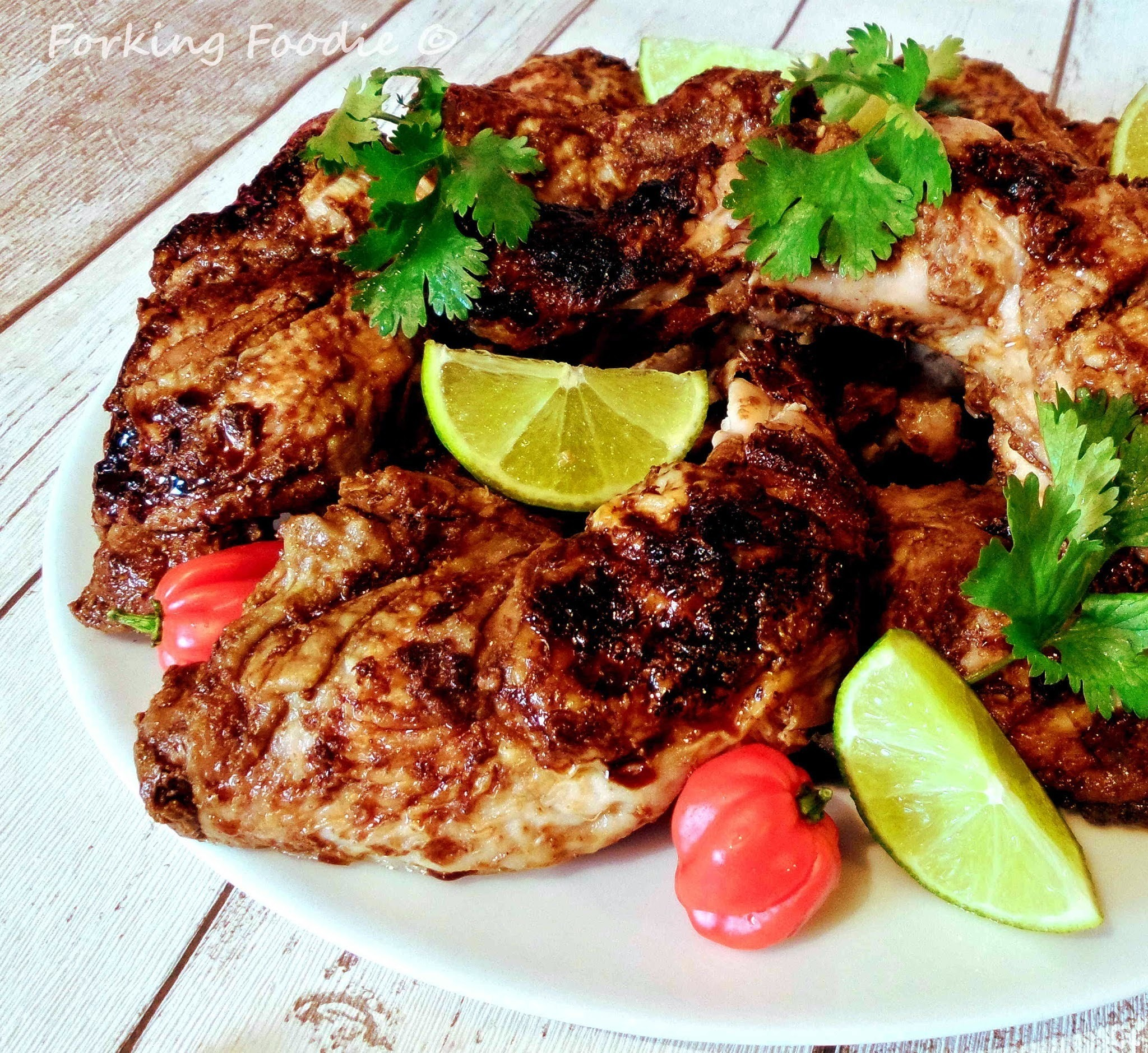 Jamaican Jerk Chicken (with Thermomix instructions)