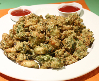 Chicken Haryali Fry Recipe