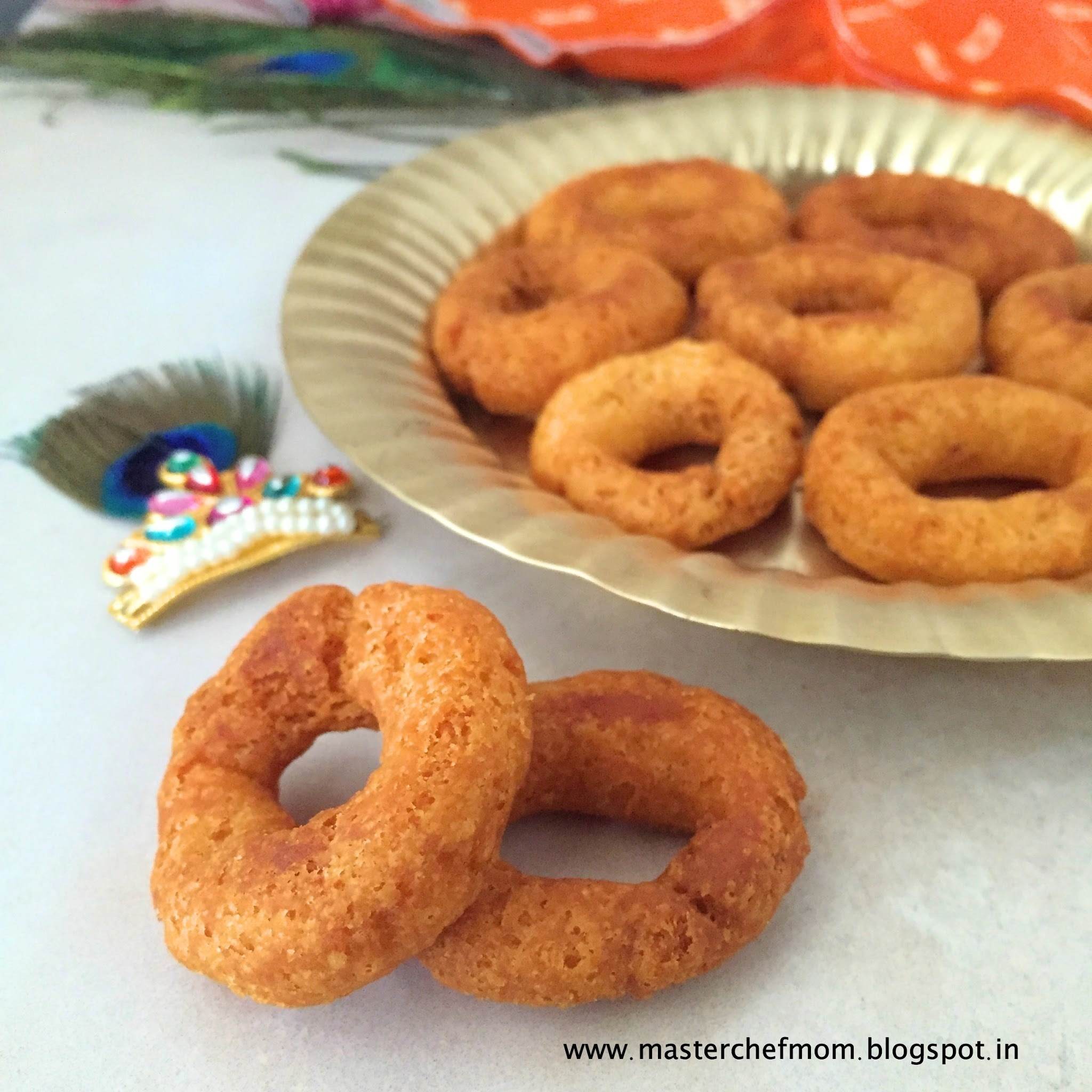 Ring Murukku | Instant Ring Murukku Recipe | Easy and Quick Ring Murukku Recipe | Stepwise Pictures |Festival Special Recipes | Vegan Recipe