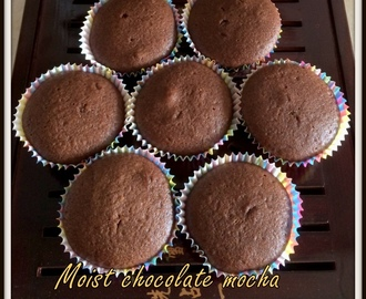 Mocha Cupcakes | Chocolate Coffee Cupcakes | Chocolate Coffee Cupcakes | Coffee Cocoa Cupcakes | Kids Friendly Cup cakes