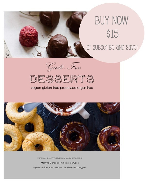 Guilt-Free Desserts eBook is here! 7 reasons why you should get a copy PLUS Raw Chocolate Recipe