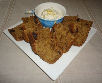 Gingered Date Banana Loaf