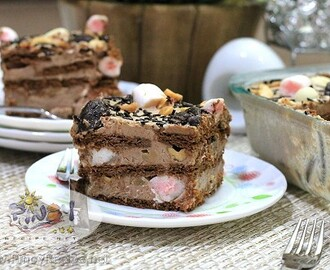 Rocky Road Icebox Cake Recipe