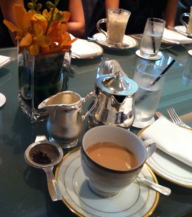 Review: High Tea at the Langham Hotel