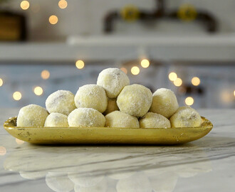 White Chocolate Truffles ~ Recipe