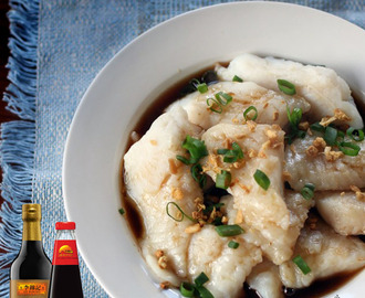 Steamed Cream Dory in Light Soy Sauce Recipe