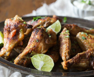 Coriander Chicken Wings