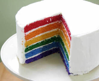 Rainbow Cake au thermomix