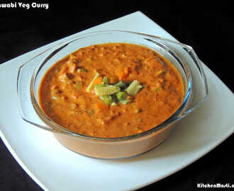 Nawabi Curry Recipe ( Veg )