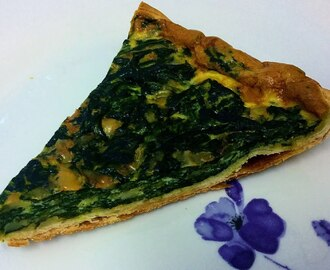 Quiche d'espinacs: Popeye's way