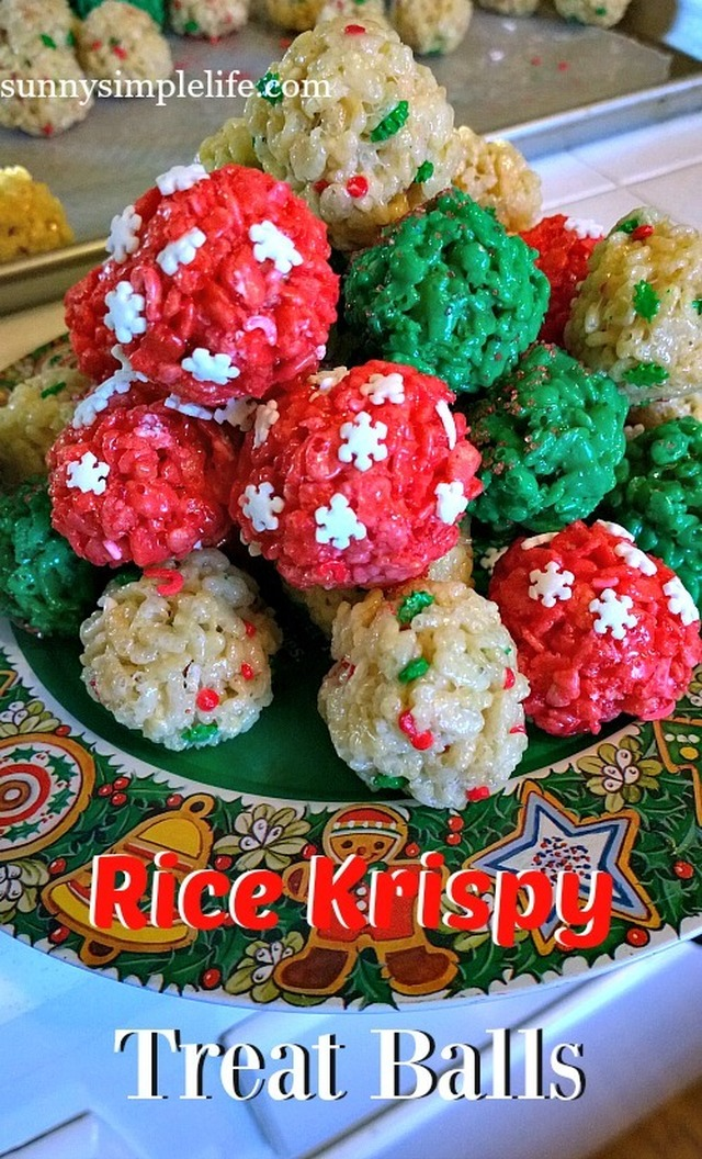 Rice Krispy Treat Balls