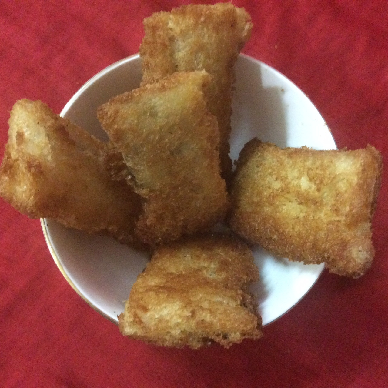 Easy To Make Snacks–Fried Bread Momo