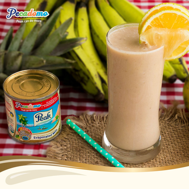 Pecadomo Recipe Challenge: Banana Orange and Pineapple smoothie