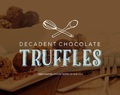 DIY Rustic Chocolate Truffles