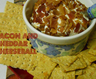 Bacon & Cheddar Cheeseball (New Recipe)