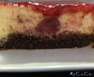 New York cheesecake (cotta) alle fragole con Cuisine e i-Companion Moulinex