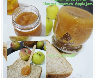 蜂蜜玉桂蘋果醬 Honey Cinnamon Apple Jam