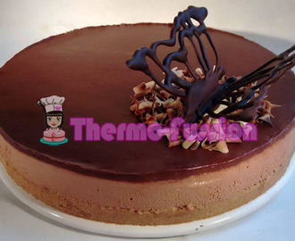 TARTA MOUSSE DE CHOCOLATE FÁCIL THERMOMIX
