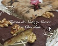 Turrón de Chocolate, Nata y Nueces
