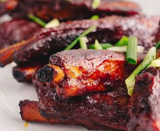 4-Ingredient Sticky Ribs - Marion's Kitchen | Recipe | Pork rib recipes, Sticky pork ribs, Rib recipes