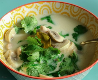 Soup Monday - Tom Kha Gai (Thai Coconut Chicken Soup)