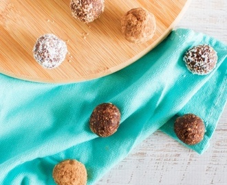 Nutella bliss balls