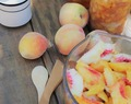 Peach Freezer Jam {No refined sugar & No pectin)
