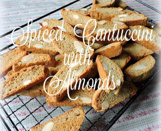 Spiced Cantuccini with Almonds