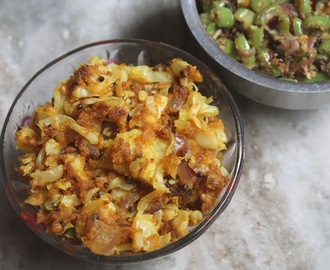 Cabbage Besan Sabzi Recipe - Cabbage Gram Flour Stir Fry Recipe