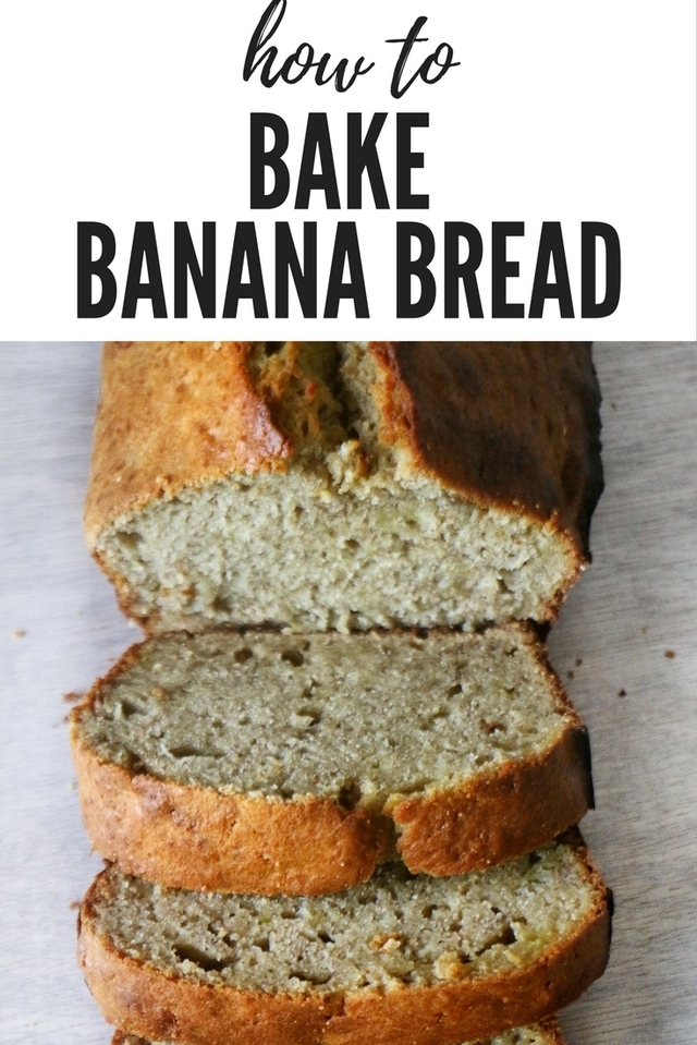 BANANA BREAD RECIPE - SUPER EASY!