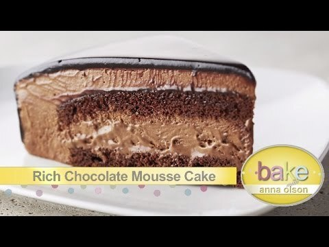 Chocolate Mousse Cake | Bake with Anna Olson