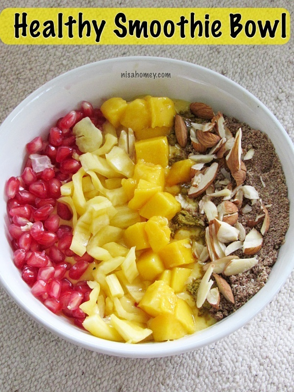 Smoothie Bowl Recipe - How To Make a Healthy Smoothie Bowl