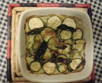Tortino di zucchine e patate – Zucchini and potato pie