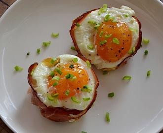 Jajka Zapiekane W Tostach W Formie Na Muffiny Przepisy Z Mytaste