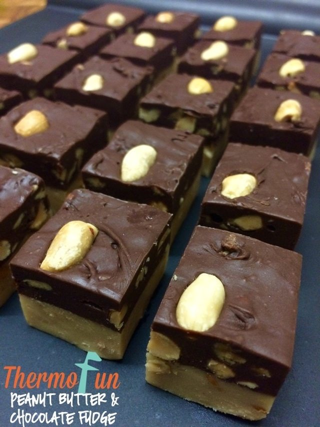 Wicked Wednesday – Peanut Butter and Chocolate Fudge
