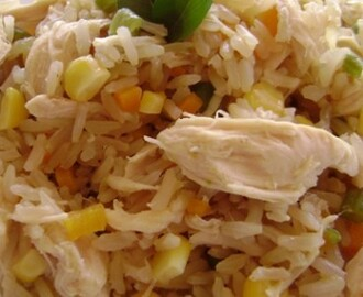 Arroz Integral com Frango