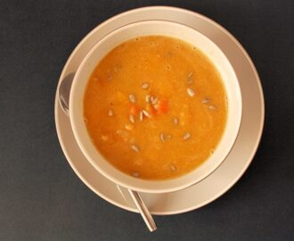 Butternut Squash & Red Lentil Soup