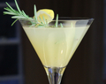 Sparkling Elderflower & Pear Martinis