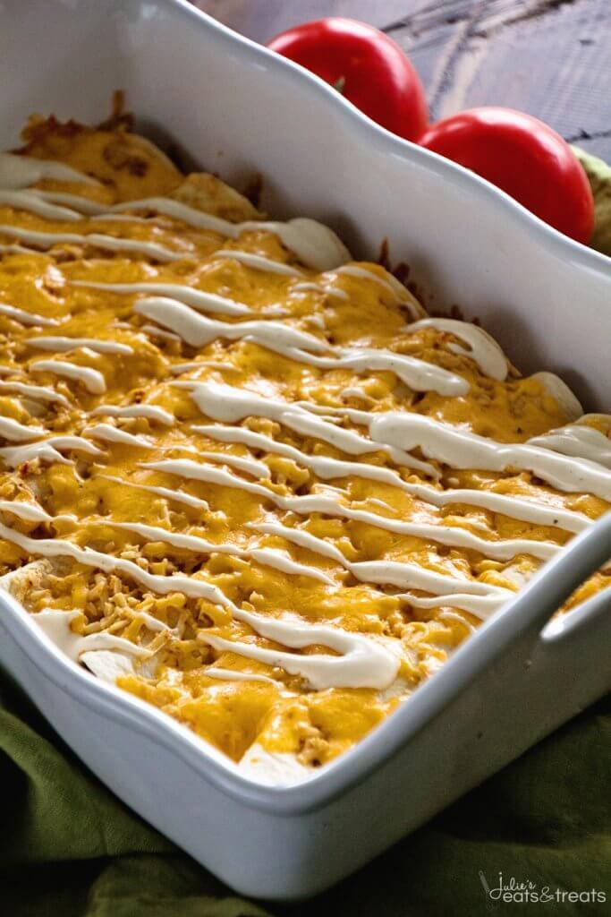 Chicken Ranch Enchiladas