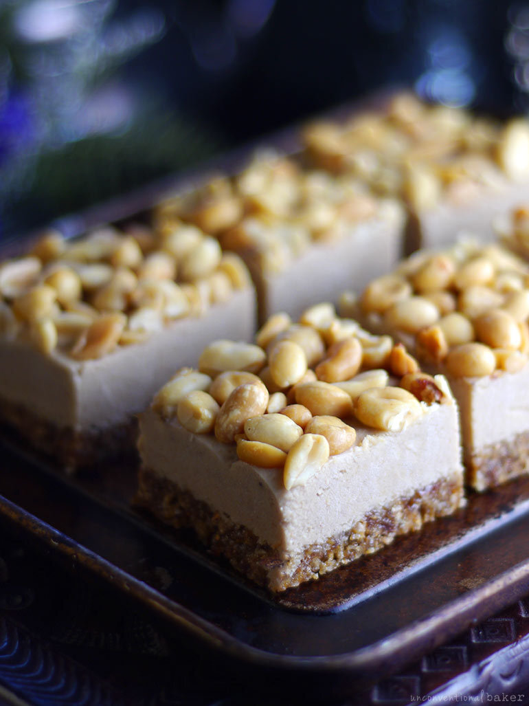 Peanut Butter Banana Ice Cream Bars