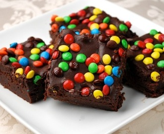 Brownie de M&Ms