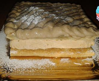 Ricette di fare e congelare torta millefoglie mytaste for Decorazione torte millefoglie