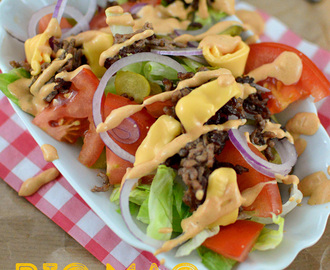 Big Mac Salat low carb