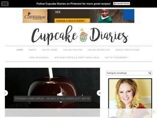 cup cake diaries blog