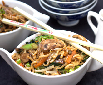 Perfect Chinese Noodles {Lo Mein}