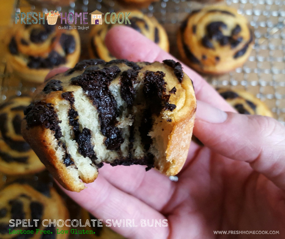 Spelt Chocolate Swirl Buns & a journey to Voices of 2015