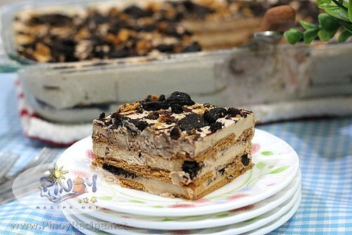 Mocha Cookie Crumble Icebox Cake Recipe