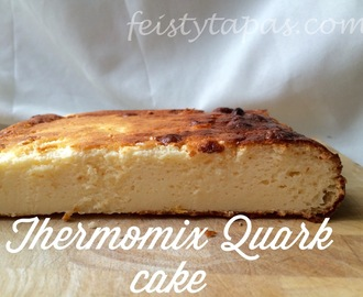 Thermomix Quark Cake