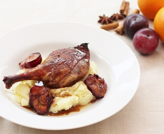 Chinese Style Duck and Plum Traybake